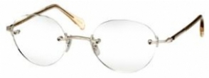 CLEARANCE OLIVER PEOPLES OP-679 (DISPLAY MODEL) SILVERCRYSTALSLB